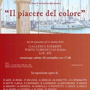 Il piacere del Colore – Galleria Ess&rrE – Arte Moderna e Contemporanea Roma. Roma 28 settembre / 11 ottobre 2019